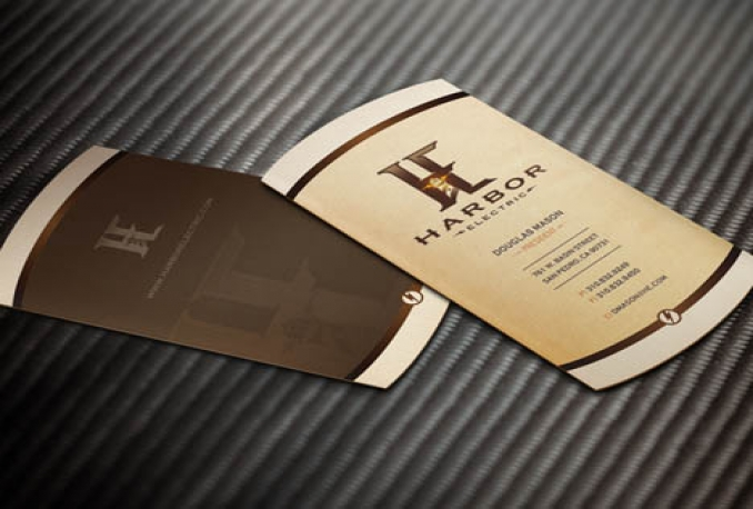 design a FULLY custom and professional Business Card