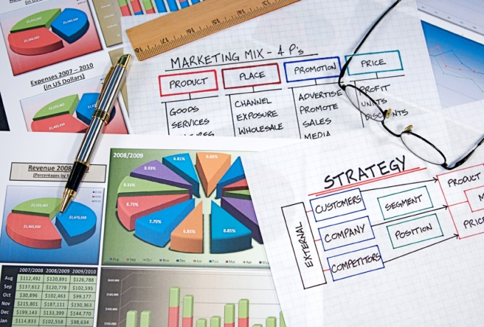 set up marketing strategy for your business