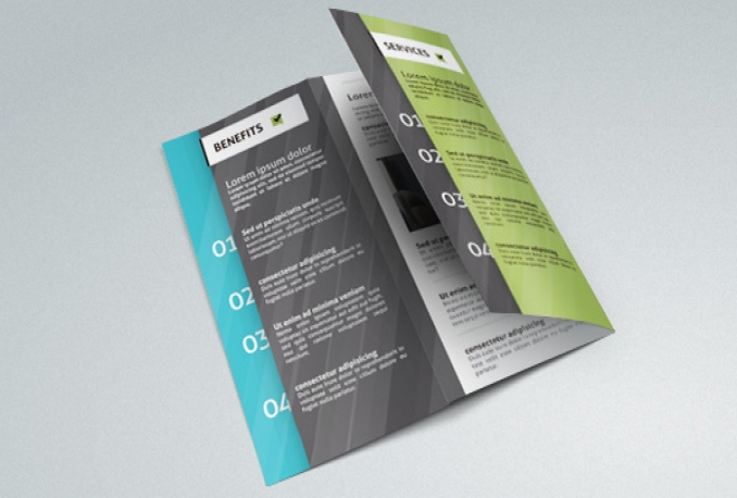 design a BROCHURE for your business