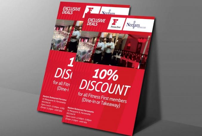 design Flyer, Poster, Brochure, Postcard