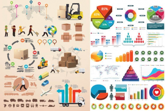 create a business INFOGRAPHIC or PowerPoint presentation