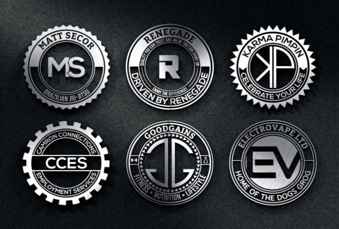 design Professional Badge logo