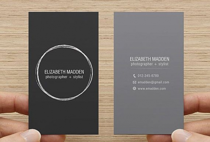 design PROFESSIONAL 2 sided business card