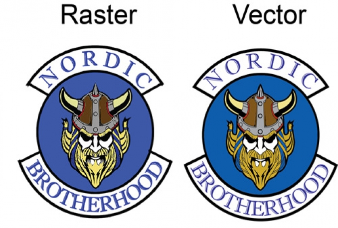 redraw,convert Logo,Images in to Vector