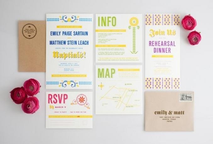 create stunning wedding invitations