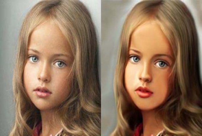 make Digital Oil Painting CARTOON