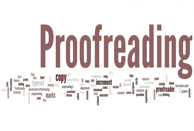 proofread and edit your text in Russian