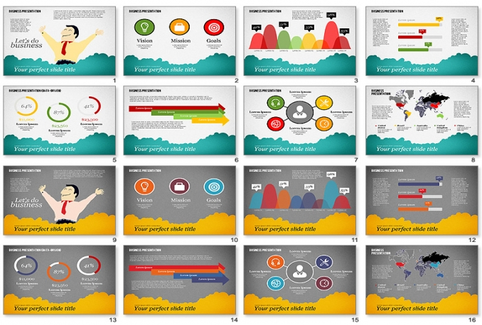 design professional presentation or Inforgraphic