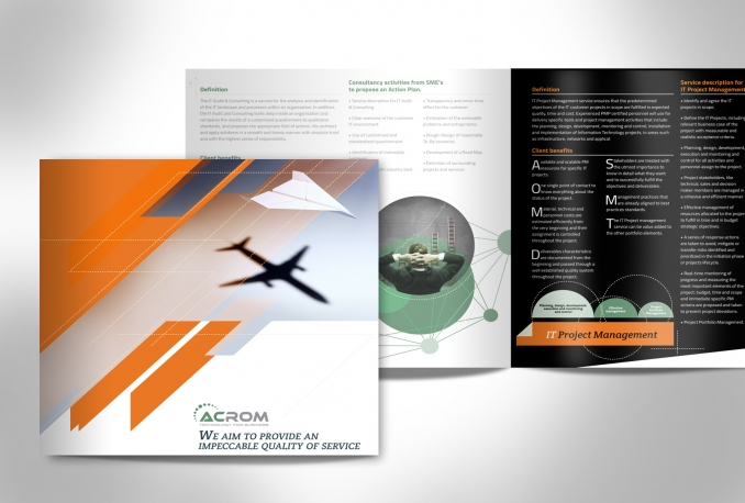 design CREATIVE Brochure, Catalog, Booklet, Magazine