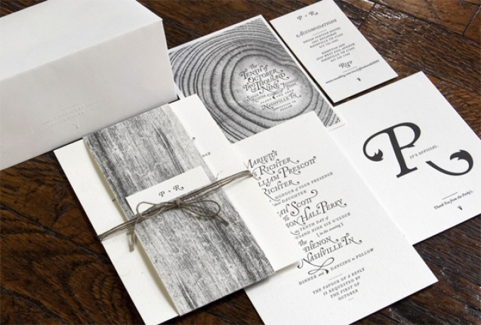 design a creative invitation card for your wedding