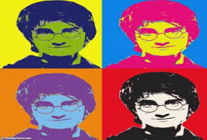 make professional Andy Warhol pop art from your photos