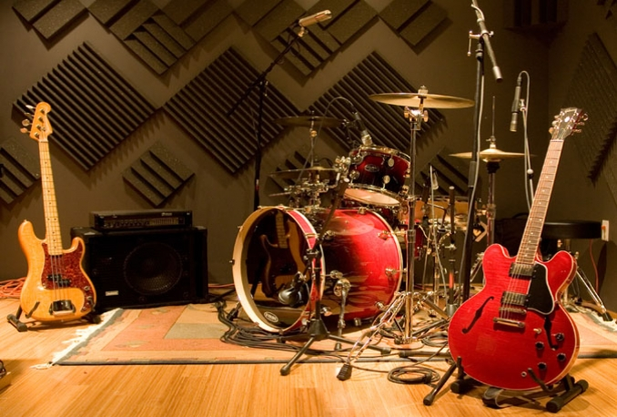 record a Drum Track for your song