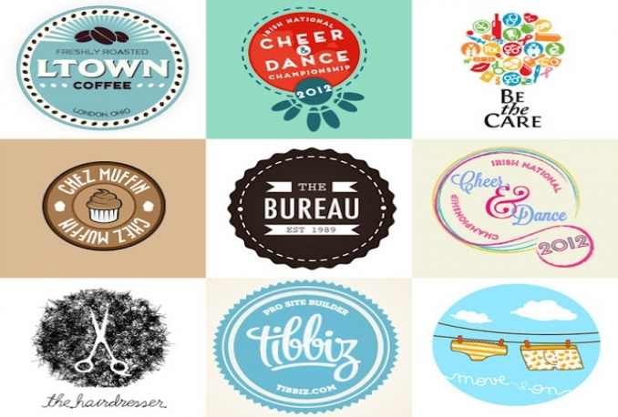 design 3 creative and professional logo concepts