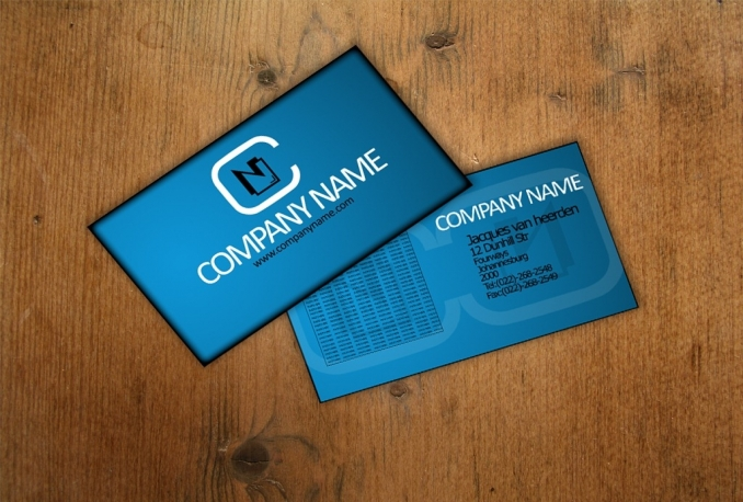 design stylish and standard business cards