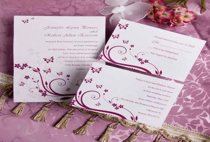 create a cool wedding invitation or any other your events
