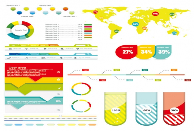 make Creative Professional Infographics