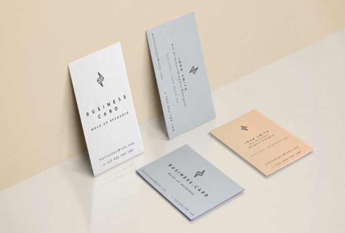 design a UNIQUE, fun business card
