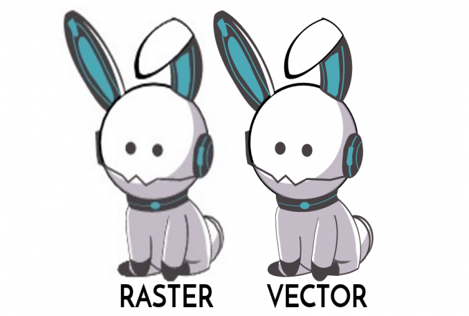 redraw, convert, trace any logo or image to vector