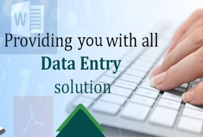 do data entry jobs