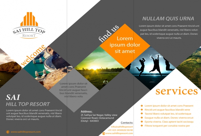 design stylish business brochres