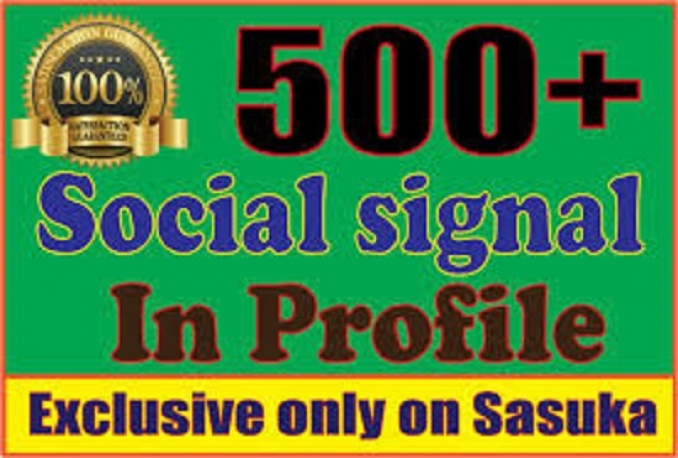 provide your website mixed 500 drip feed best social signals