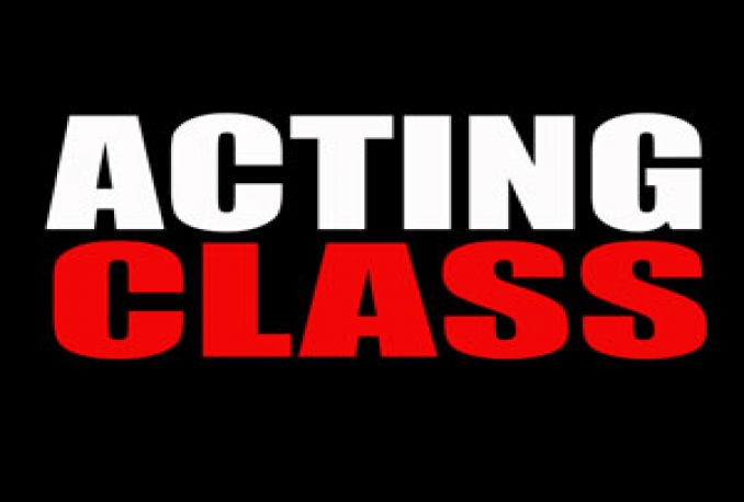 "teach ""ACTING CLASSES"" for one hour every day"