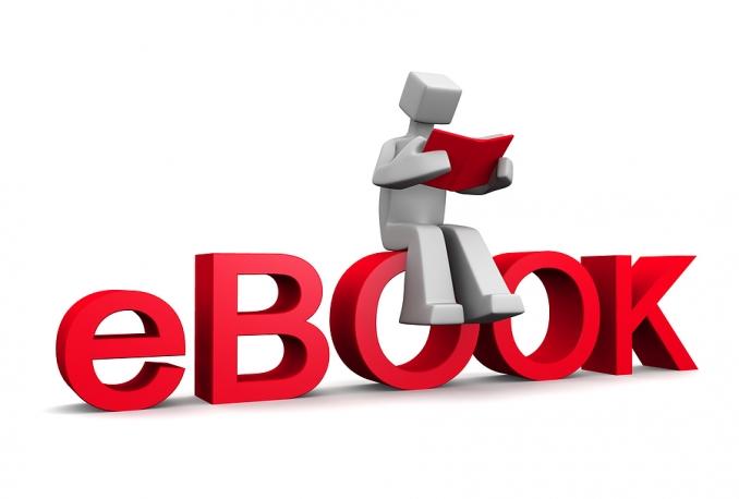 write you a unique and original ebook with cover