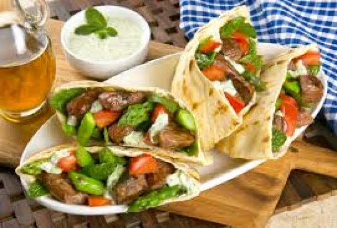 teach you how to make Lemony Lamb Pitas