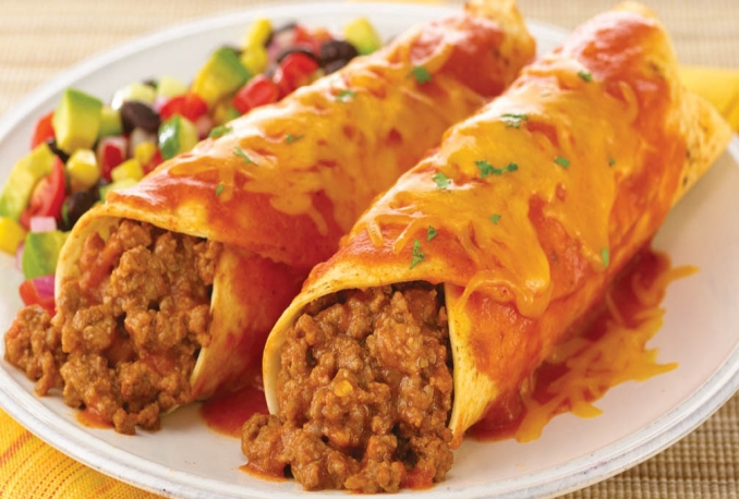 teach you how to make enchiladas