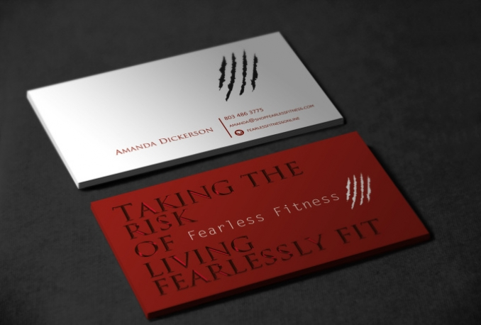 do stylish business card design and logo