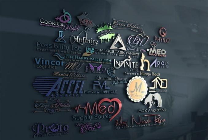 design EYE catching, minimal Logo for you Business