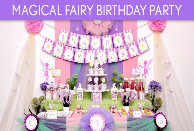 design birthday event theme