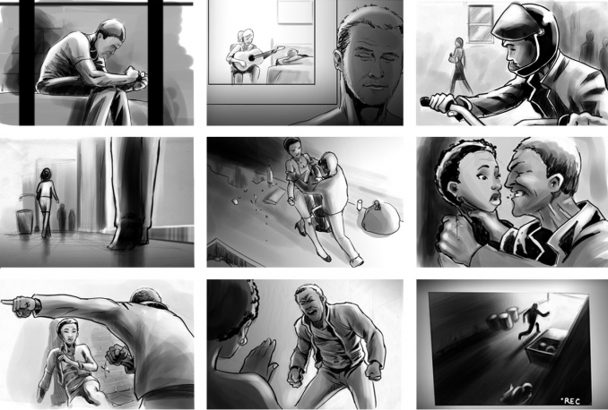 deliver the professional STORYBOARDS