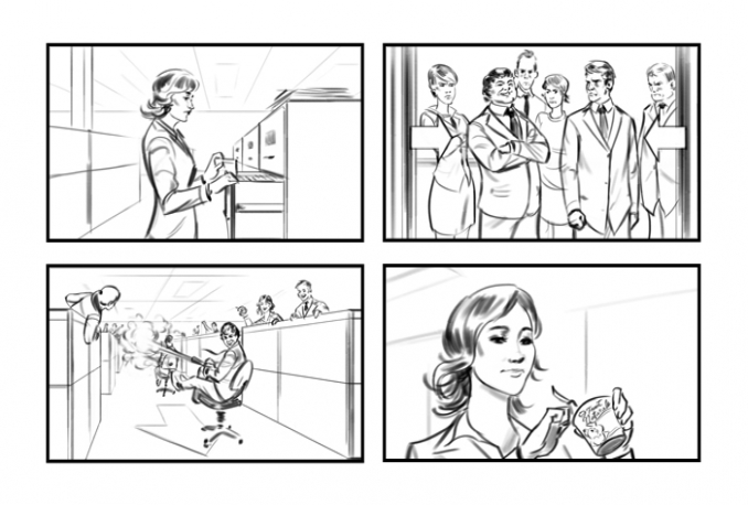 create STORYBOARDS