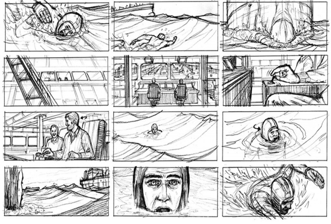 draw storyboard panels for film, advertising or animation  (6)