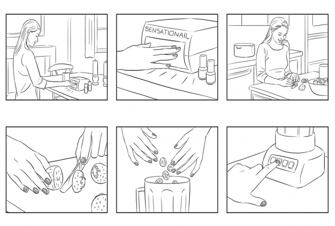 create STORYBOARDS of your ideas