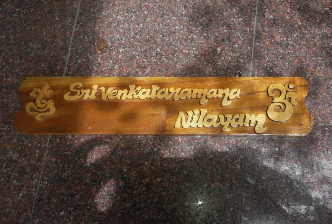 make custom hand crafted name plates