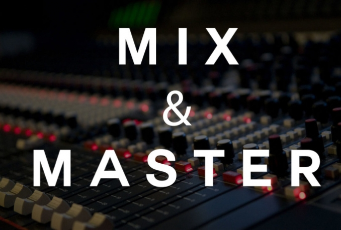 professionally mix and master your songs