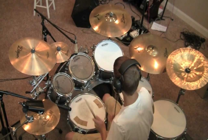 record a KILLER drum track for your song