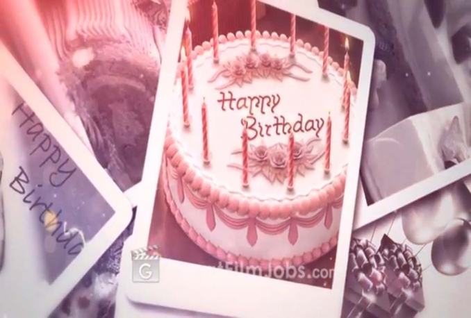 make this beautiful Birthday video greetings