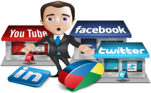social signals and SEO backlinks bookmarks from Google+, Linkedin, Twitter, Facebook