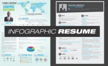 create an INFOGRAPHIC Resume
