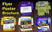 design Unique flyer, poster or brochure