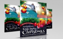 design Christmas Flyers and posters