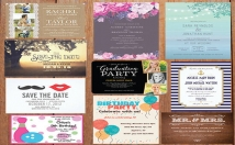 create a wedding or event invitation, brochure, or flyer