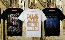 do fantastic typography and teespring t shirt design