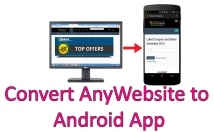 convert you website into android app