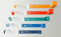 design infographics and presentation elements