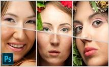 do Photoshop, removing background, retouching