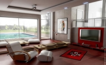 make 3D interior from your floorplan